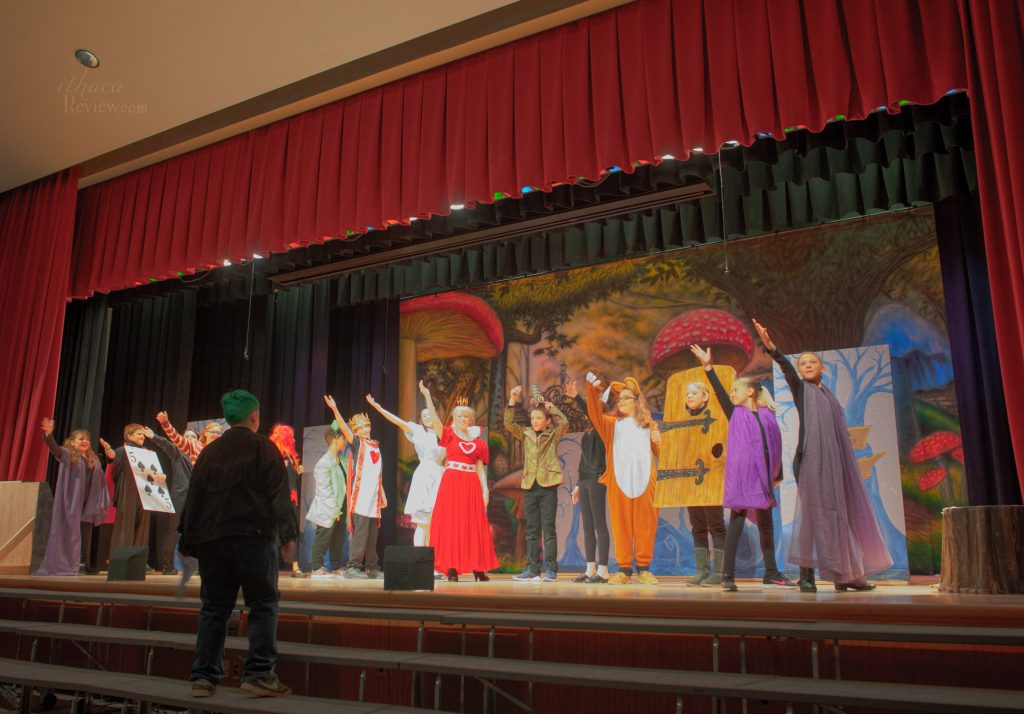 Groton Middle School presents one night of Alice @ Wonderland